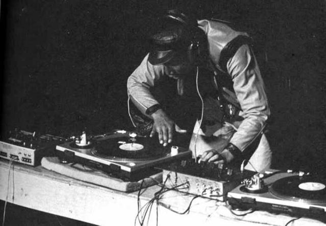 Pioneering early hip hop artist Grandmaster Flash