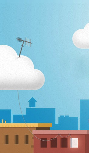 Antenna in the Cloud